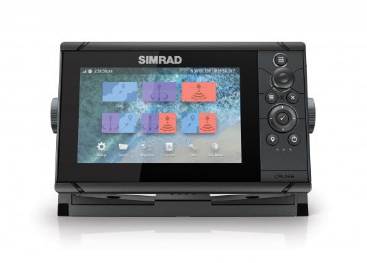 Pour les pêcheurs ! Le traceur de carte Cruise 7 Simrad ne possède pas seulement des fonctions de navigations poussées mais affiche également des images sous-marines détaillées.  (Image 3 de 7)