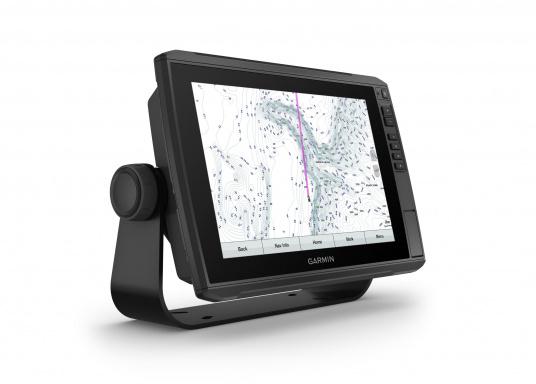 La nuova serie EchoMAP Ultra di Garmin è in grado di riprodurre in tempo reale immagini ad alta risoluzione dell'ambiente sottomarino ed offre in più le funzionalità complete di un navigatore cartografico. EchoMAP Ultra 102sv monta un display impermeabile da 10 pollici. Il trasduttore sonar GT54UHD-TM è incluso. (Immagine 4 di 14)