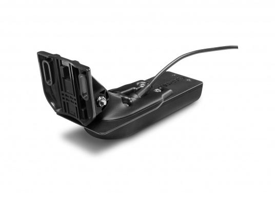 La nuova serie EchoMAP Ultra di Garmin è in grado di riprodurre in tempo reale immagini ad alta risoluzione dell'ambiente sottomarino ed offre in più le funzionalità complete di un navigatore cartografico. EchoMAP Ultra 102sv monta un display impermeabile da 10 pollici. Il trasduttore sonar GT54UHD-TM è incluso. (Immagine 11 di 14)