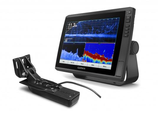 """Mit der neuen EchoMAP Ultra-Serie von Garmin erhalten Sie hochauflösende Darstellungen der unmittelbaren Unterwasserwelt in Kombination mit einem Kartenplotter. Der EchoMAP Ultra 122sv verfügt über ein wasserdichtes 12"""" Display und wird mit GT54UHD-TM-Geber geliefert."""