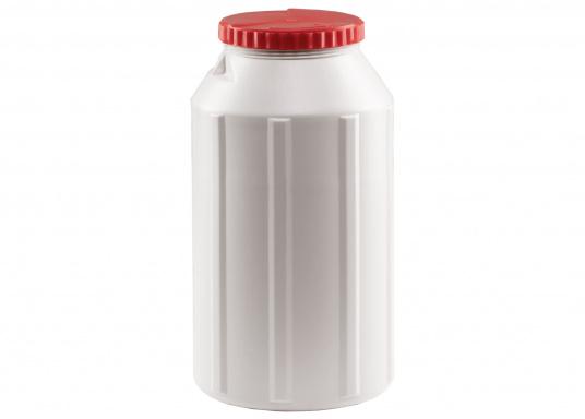 Verstauen Sie IhreNotpakete, Medikamente, Signalmittel etc. sicher in diese stabilen und wasserdicht verschließbaren Aufbewahrungsbehältern aus Kunststoff.Inhalt: 15 Liter.