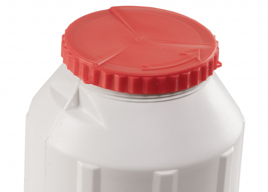 Verstauen Sie IhreNotpakete, Medikamente, Signalmittel etc. sicher in diese stabilen und wasserdicht verschließbaren Aufbewahrungsbehältern aus Kunststoff.Inhalt: 15 Liter. (Bild 2 von 5)