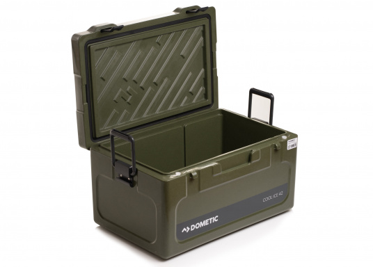 Keeps ice frozen for several days! Thanks to the thick refridgeration grade foam insulation and unique labyrinth seal, this highly efficient and extremely lightweight insulation box means you can have ice-cold drinks even when the temperature outside is high. Colour: green (Imagen 4 de 8)