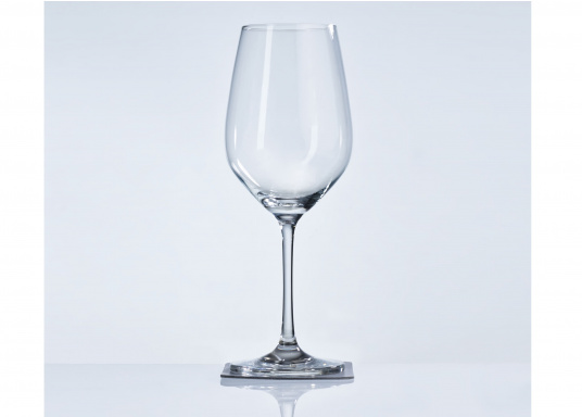 These elegant magnetic crystal glass wine glasses with built-in magnets in the bottom are secure even at high seas! The glasses are made of crystal glass and are supplied as a set of 2 including metallic gel coasters. Capacity: 250 ml. (Afbeelding 3 of 14)