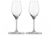 Magnetic Crystal CHAMPAGNE Glass / set of 2