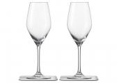 Bicchieri di cristallo magnetici CHAMPAGNE / set di 2