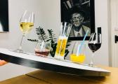 Bicchieri di cristallo magnetici LONGDRINK / set di 2