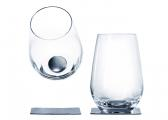 Magnetic Crystal LONGDRINK Glass / set of 2