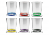 Magnetic MULTICOLOUR Drinking Cups / Set of 6