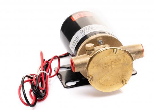 Eine dauerhafte und langlebige Lösung! Die hochwertige Impellerpumpe F3B-19 von JOHNSON ist optimal für das Ablassen und Nachfüllen von Motoröl geeignet. Erhältlich in 12 oder 24 V. (Bild 6 von 7)