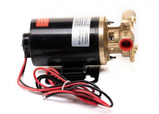 Eine dauerhafte und langlebige Lösung! Die hochwertige Impellerpumpe F3B-19 von JOHNSON ist optimal für das Ablassen und Nachfüllen von Motoröl geeignet. Erhältlich in 12 oder 24 V. (Bild 7 von 7)