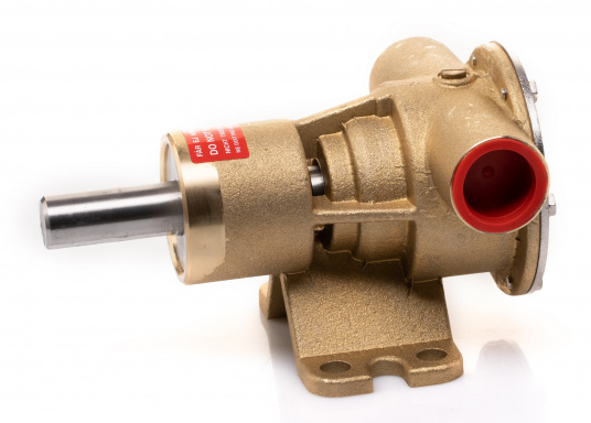 Die Impellerpumpe F5B-8 von JOHNSON kann für verschiedene Anwendungsbereiche verwendet werden: als Kühlwasserpumpe für Motoren, Lenzpumpe, Spülpumpe und als Pumpe für die Entleerung von Fäkalientanks. (Bild 2 von 9)