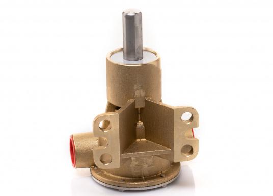 Die Impellerpumpe F5B-8 von JOHNSON kann für verschiedene Anwendungsbereiche verwendet werden: als Kühlwasserpumpe für Motoren, Lenzpumpe, Spülpumpe und als Pumpe für die Entleerung von Fäkalientanks. (Bild 3 von 9)