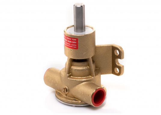 Die Impellerpumpe F5B-8 von JOHNSON kann für verschiedene Anwendungsbereiche verwendet werden: als Kühlwasserpumpe für Motoren, Lenzpumpe, Spülpumpe und als Pumpe für die Entleerung von Fäkalientanks. (Bild 5 von 9)