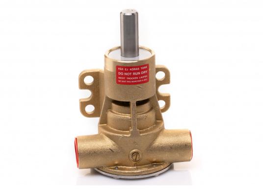 Die Impellerpumpe F5B-8 von JOHNSON kann für verschiedene Anwendungsbereiche verwendet werden: als Kühlwasserpumpe für Motoren, Lenzpumpe, Spülpumpe und als Pumpe für die Entleerung von Fäkalientanks. (Bild 8 von 9)