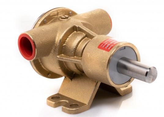 Die Impellerpumpe F5B-8 von JOHNSON kann für verschiedene Anwendungsbereiche verwendet werden: als Kühlwasserpumpe für Motoren, Lenzpumpe, Spülpumpe und als Pumpe für die Entleerung von Fäkalientanks. (Bild 6 von 9)