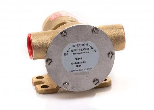 Die Impellerpumpe F5B-8 von JOHNSON kann für verschiedene Anwendungsbereiche verwendet werden: als Kühlwasserpumpe für Motoren, Lenzpumpe, Spülpumpe und als Pumpe für die Entleerung von Fäkalientanks. (Bild 7 von 9)