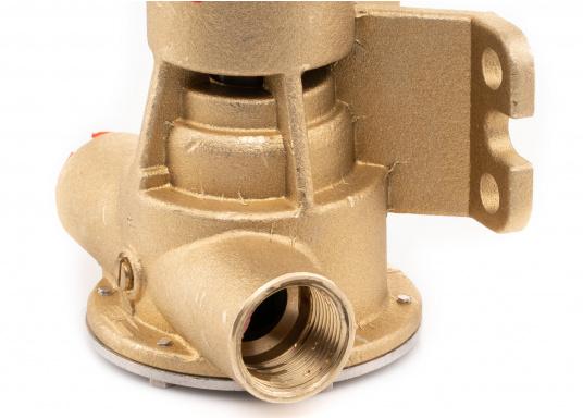 Die Impellerpumpe F5B-8 von JOHNSON kann für verschiedene Anwendungsbereiche verwendet werden: als Kühlwasserpumpe für Motoren, Lenzpumpe, Spülpumpe und als Pumpe für die Entleerung von Fäkalientanks. (Bild 9 von 9)