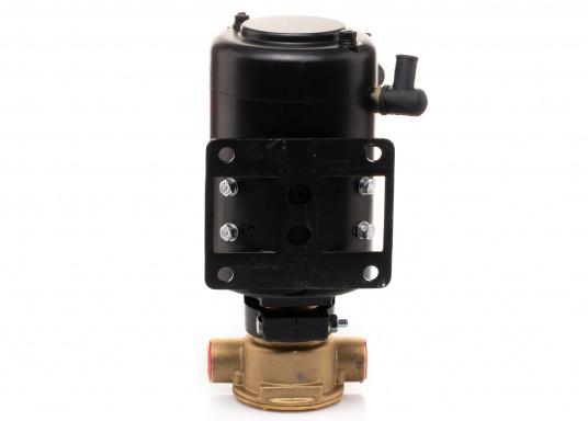 Ideal zum Abpumpen von Bilgenwasser, als Auftankpumpe, für Waschanlagen, als Feuerlöschpumpe, für Frischwasser etc. Spannung: 24 V. (Bild 8 von 8)