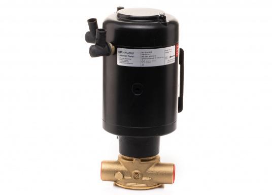 Ideal zum Abpumpen von Bilgenwasser, als Auftankpumpe, für Waschanlagen, als Feuerlöschpumpe, für Frischwasser etc. Spannung: 24 V. (Bild 3 von 8)