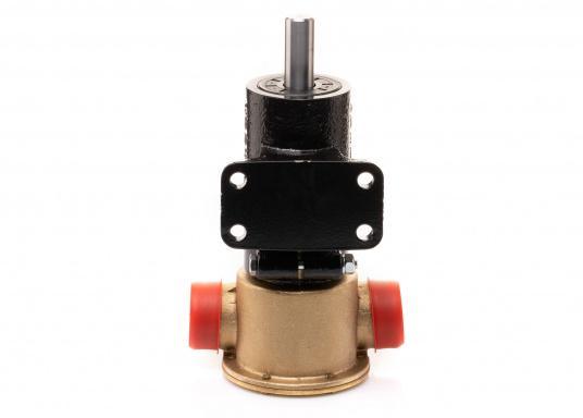 Die Impellerpumpe F7B-3000 ist als Kühlwasserpumpe für Motoren, Lenzpumpe, Spülpumpe und als Pumpe für die Entleerung von Fäkalientanks geeignet. (Bild 3 von 8)