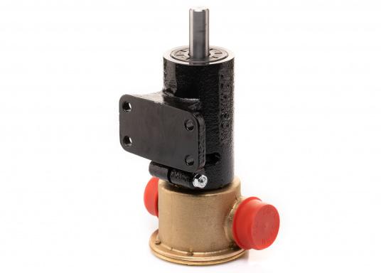 Die Impellerpumpe F7B-3000 ist als Kühlwasserpumpe für Motoren, Lenzpumpe, Spülpumpe und als Pumpe für die Entleerung von Fäkalientanks geeignet. (Bild 5 von 8)