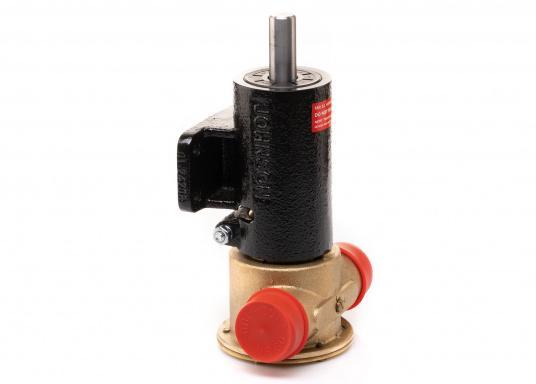 Die Impellerpumpe F7B-3000 ist als Kühlwasserpumpe für Motoren, Lenzpumpe, Spülpumpe und als Pumpe für die Entleerung von Fäkalientanks geeignet. (Bild 6 von 8)