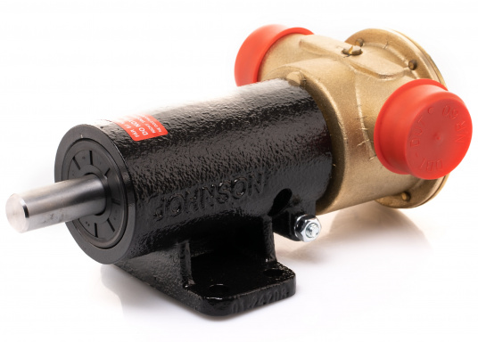 Die Impellerpumpe F7B-3000 ist als Kühlwasserpumpe für Motoren, Lenzpumpe, Spülpumpe und als Pumpe für die Entleerung von Fäkalientanks geeignet. (Bild 8 von 8)