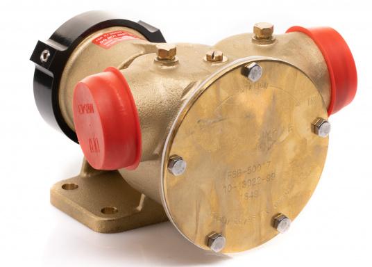 Die Impellerpumpte F8B-5001 von JOHNSON kann als Lenzpumpe, Deckwaschpumpe, Kühlwasserpumpe für Motoren oder auch als Feuerlöschpumpe verwendet werden. (Bild 8 von 8)