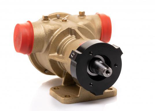 Die Impellerpumpte F8B-5001 von JOHNSON kann als Lenzpumpe, Deckwaschpumpe, Kühlwasserpumpe für Motoren oder auch als Feuerlöschpumpe verwendet werden. (Bild 6 von 8)
