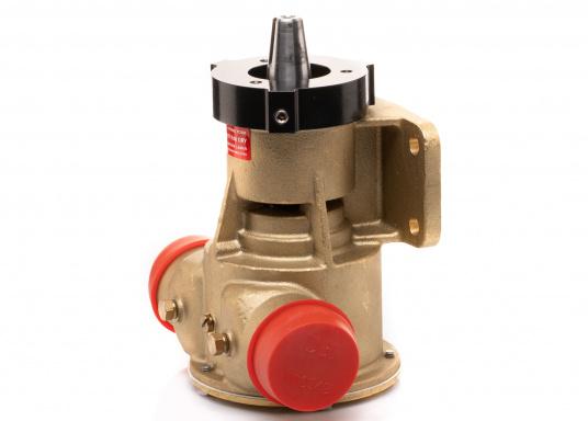 Die Impellerpumpte F8B-5001 von JOHNSON kann als Lenzpumpe, Deckwaschpumpe, Kühlwasserpumpe für Motoren oder auch als Feuerlöschpumpe verwendet werden. (Bild 5 von 8)