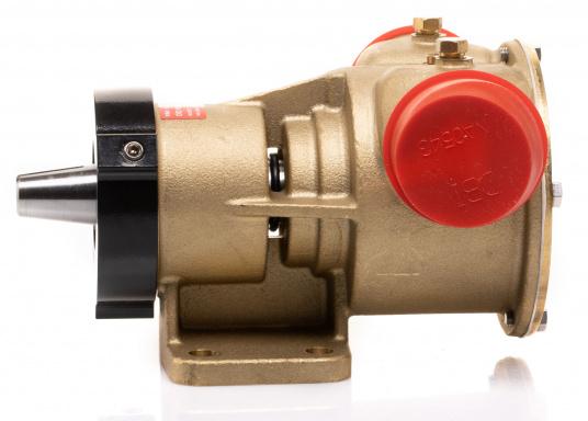 Die Impellerpumpte F8B-5001 von JOHNSON kann als Lenzpumpe, Deckwaschpumpe, Kühlwasserpumpe für Motoren oder auch als Feuerlöschpumpe verwendet werden. (Bild 3 von 8)