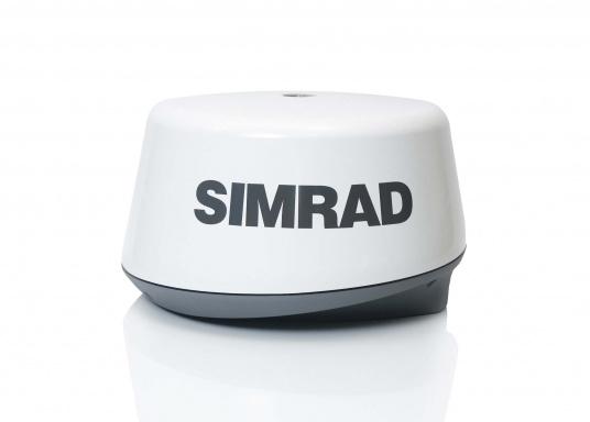 """Das neue 7"""" Kartenplotter-Navigationsdisplay GO7 XSR von Simrad bietet Ihnen eine Reihe von neuen Technologien. Durch einen integrierten GPS-Empfänger, drahtloser Konnektivität über WIFi, eine Vielzahl an Anschlussmöglichkeiten über das NMEA2000 Netzwerksystem und der Plug-and-Play Radarkompatibilität wird das Navigieren auch bei schlechten Bedingungen leicht gemacht. Lieferung inklusive TotalScan-Geber und 3G Radarantenne. (Bild 3 von 16)"""