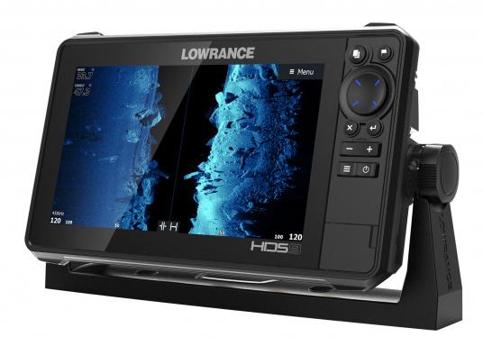 Der kompakte HDS-9 Live bietet Ihnen alle aktuellen Lowrance Fishfinder Funktionen mit Unterstützung fürActive Imaging™, LiveSight™ Echtzeit-Sonar, StructureScan® 3Dund Genesis Live Kartierung. Lieferung ohne Active Imaging 3-in-1 Geber. (Bild 4 von 5)