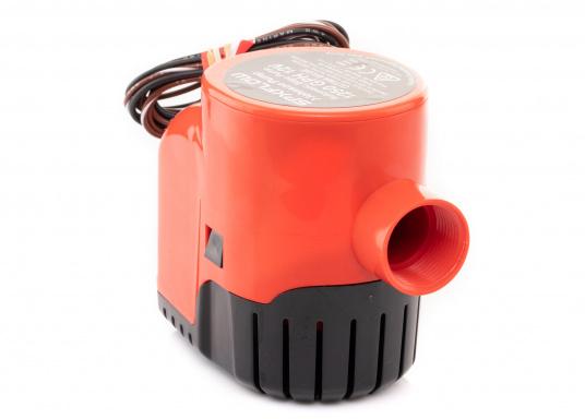 Die Lenzpumpe Ultima 1250GPH von JOHNSON verfügt über hochmoderne mikroelektrische Felder, die ein Vorhandensein von Wasser im Bilgenbereich eines Schiffes erkennt und dieses Wasser daraufhin automatisch abpumpt.Spannung: 12 V.