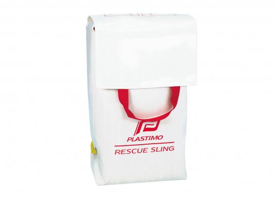 """Bewährtes Rettungssystem zur schnellen und sicheren Bergung im """"Mann-über-Bord""""-Fall. Es wurden nur hochwertige Materialien verwendet um eine sichere Rettung zu gewährleisten. Lieferung komplett mit Tasche.  (Bild 2 von 2)"""