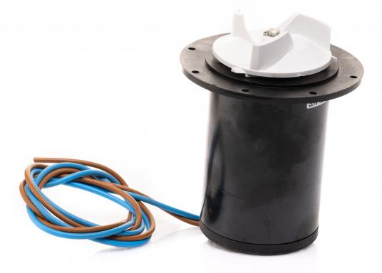 Originaler und passender Ersatzmotor für elektrische WCs von JOHNSON. Spannung: 12 V.
