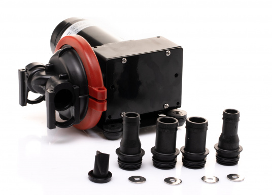 Die Viking Power 16 ist eine flexible und kompakte Gleichstrompumpe mit Einzelmembran. Diese Pumpe ist die ideal für den Duschwasserabfluss, Abwasser und das Abpumpen von Leckwasser geeignet. (Bild 2 von 2)