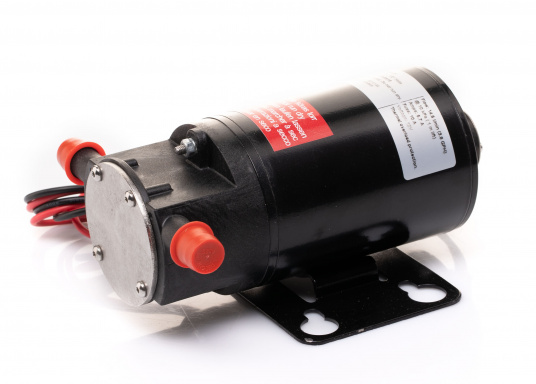 Ideal für der Bilge, als Öl- oder Dieselpumpe, als Deckwaschpumpe, als Feuerlöschpumpe, als Frischwasserpumpe etc. Erhältlich in 12 oder 24 V. (Bild 5 von 6)