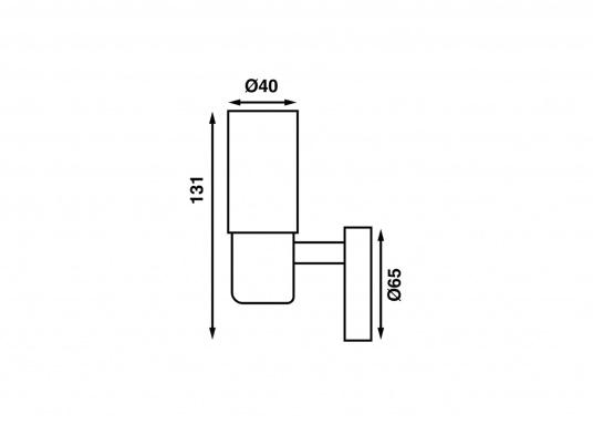 Die LED-Wandleuchte der LEIA-Serie von BATSYSTEM überzeugt mit stielvollen, modernen Design und verfügt über einen integrierten Dimmer, Memory-Funktion und einen Anschluss zum Laden von USB-fähigen Geräten. (Bild 6 von 6)
