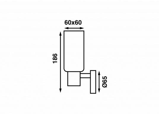 Die LED-Wandleuchte der LEIA-Serie von BATSYSTEM überzeugt mit stielvollen, modernen Design und verfügt über einen integrierten Dimmer, Memory-Funktion und einen Anschluss zum Laden von USB-fähigen Geräten. (Bild 7 von 7)