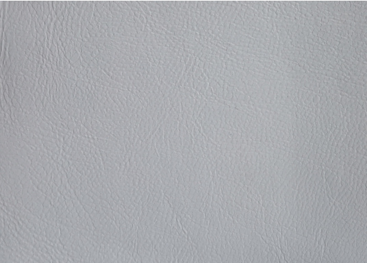 Very high-quality, durable material with embossed leather grain and foam backing. This classic fabric is ideally suited for wall and ceiling panels. Roll width 140m. Supplied cut to at least 1 m. Price per meter. Colour: grey.