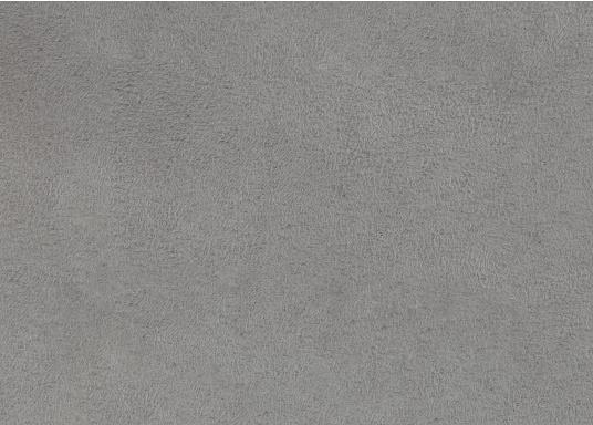 Samtig weicher Microfaserstoff in Velourslederoptik. DurchFilzrückseite, ideal als Bezugsstoff für Möbel geeignet.Rollenbreite: ca. 1,45 m. Lieferung im Anschnitt zu mind. 1 m. Preis pro Meter.Farbe: grau.