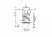 Ecoscandaglio FLS-2D con trasduttore professionale