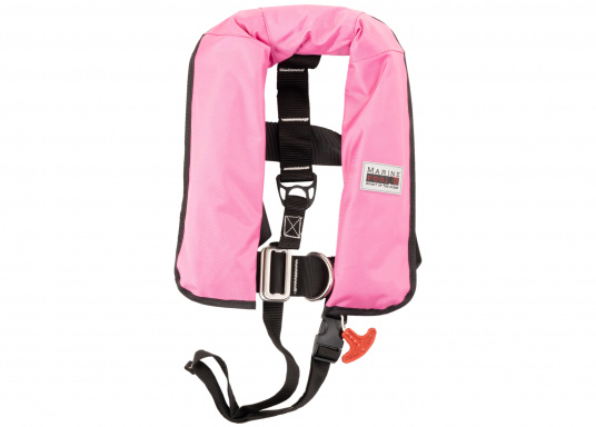 Lorsque vous embarquez avec des enfants, le plus important est la qualité de leurs gilets de sauvetage. Le gilet JUNIOR ISO de MARINEPOOL 150N maintient hors de l'eau les enfants qui ne savent pas nager. Approuvé norme ISO 12402-3.