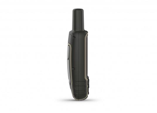 Das GPSMAP® 64sx-Navigationshandgerät ist mit einem 2,6-Zoll-Display ausgestattet, das auch bei Sonneneinstrahlung sehr gut lesbar ist. Ein hochempfindlicher GPS-, GLONASS- und GALILEO-Empfänger in Kombination mit einer Quad-Helix-Antenne gewährleisten einen zuverlässigen und ausgezeichneten Empfang. Integrierter 3-Achsen-Kompass, barometrischer Höhenmesser sowie drahtloste Konnektivität. (Bild 6 von 8)