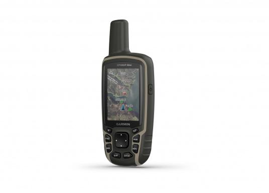 Das GPSMAP® 64sx-Navigationshandgerät ist mit einem 2,6-Zoll-Display ausgestattet, das auch bei Sonneneinstrahlung sehr gut lesbar ist. Ein hochempfindlicher GPS-, GLONASS- und GALILEO-Empfänger in Kombination mit einer Quad-Helix-Antenne gewährleisten einen zuverlässigen und ausgezeichneten Empfang. Integrierter 3-Achsen-Kompass, barometrischer Höhenmesser sowie drahtloste Konnektivität.