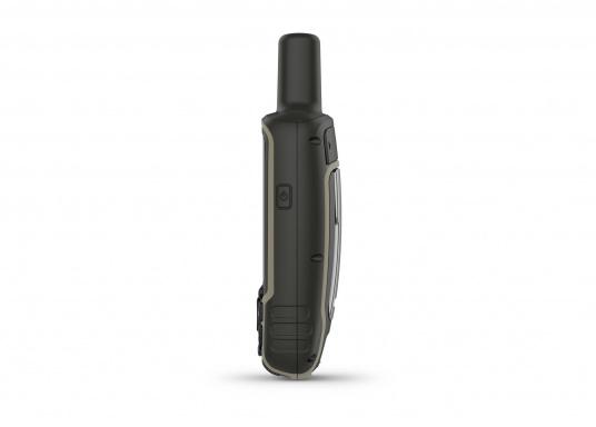 Das GPSMAP® 64sx-Navigationshandgerät ist mit einem 2,6-Zoll-Display ausgestattet, das auch bei Sonneneinstrahlung sehr gut lesbar ist. Ein hochempfindlicher GPS-, GLONASS- und GALILEO-Empfänger in Kombination mit einer Quad-Helix-Antenne gewährleisten einen zuverlässigen und ausgezeichneten Empfang. Integrierter 3-Achsen-Kompass, barometrischer Höhenmesser sowie drahtloste Konnektivität. (Bild 8 von 8)