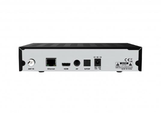 Nie wieder Ihre Lieblingssendungen verpassen! Mit dem DVB-T2-Receiver DTR3442B haben Sie Zugriff auf großartige Fernsehinhalte von freien- und verschlüsselten Sendern. (Bild 2 von 2)