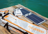 SUNFOLD 50 Solar Panel for Electric Outboard Engines